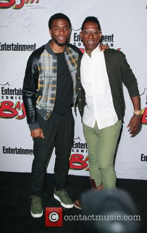 Chadwick Boseman and Orlando Jones
