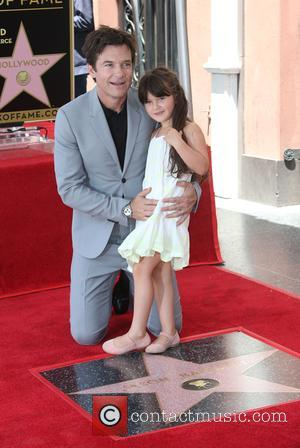 Jason Bateman and Maple Sylvie Bateman