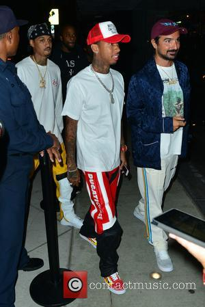 Tyga at a Maxxfield Pop Up Store Event - West Hollywood, California, United States - Thursday 10th August 2017