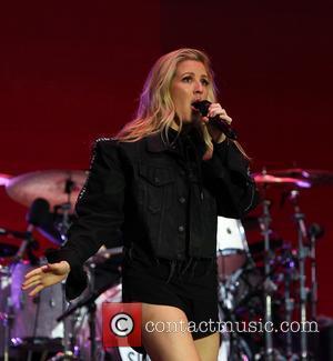 Ellie Goulding - Ellie Goulding performing on stage during Day Two of V Festival at Hylands Park at Hylands Park,...