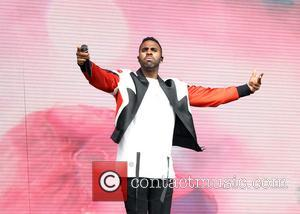 Jason Derulo - Jason Derulo performing on the main stage during Day Two of V Festival at Hylands Park at...