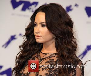 Demi Lovato at the 2017 MTV Video Music Awards (VMA) held at the Forum in Inglewood - Los Angeles, California,...