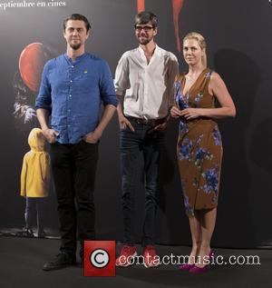 Andy Muschietti, Javier Botet and Barbara Muschietti