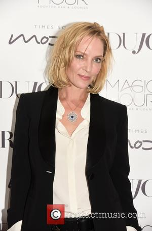 Uma Thurman Gives Poised Response To Question Of Hollywood Sexual Harassment