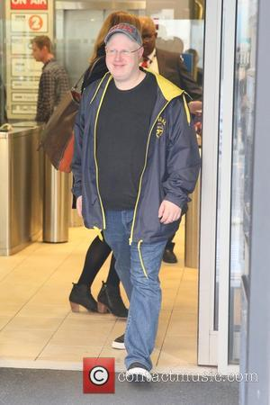 Matt Lucas seen leaving Radio 2 wearing a Las Vegas baseball cap - London, United Kingdom - Tuesday 3rd October...