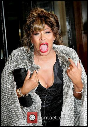Tina Turner at the Armani Haute Couture spring/summer 2010 fashion show held at the Palais de Chaillot Paris, France -...