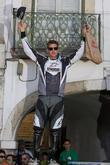 2nd Place Greg Minnaar (RSA) at the podium