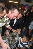 Tom Arnold, California Governor and Arnold Schwarzenegger
