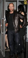Jason Statham and Friends Leaving The Luxury British Club