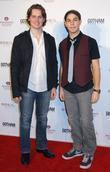 Jonathan Groff and Skylar Astin