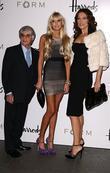 Bernie Ecclestone, Petra Ecclestone and Slavica Ecclestone