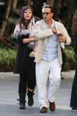 Andy Garcia and His Daughter