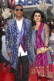 Jermaine Jackson and His Wife Halima Rashid