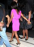 Alexandra Burke, Leaves and Pretty In Pink