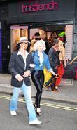 Johnny Depp and Marilyn Monroe