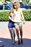 Kate Beckinsale and Her Daughter Lily Mo Sheen Shopping In Santa Monica