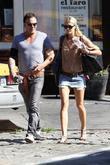 Mickey Rourke and Girlfriend Anastassija Makarenko Shopping Together In The West Village