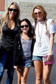Tish Cyrus and Miley Cyrus