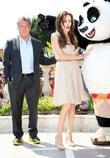Dustin Hoffman and Angelina Jolie