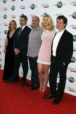 Gillian Anderson, Chris Clark, Oliver Parker, Rosamund Pike and Rowan Atkinson