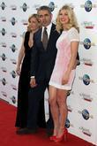 Gillian Anderson, Rosamund Pike and Rowan Atkinson