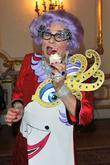 Dame Edna Everage and Barry Humphries