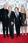 Michael Gross, Meredith Baxter, Michael J Fox and Tracy Pollan