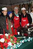 Booboo Stewart, Fivel Stewart, Harrison Ford and Mayor Antonio Villaraigosa