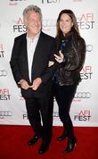 Dustin Hoffman, Lisa Hoffman and Grauman's Chinese Theatre