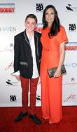 Famke Janssen and Spencer List
