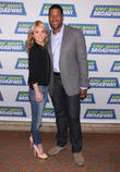 Michael Strahan, Kelly Ripa, The Broadway Kids, National Ambassadors, Kids' Night On Broadway, August Wilson Theatre. New and York City