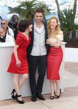 Emily Hampshire, Robert Pattinson and Sarah Gadon
