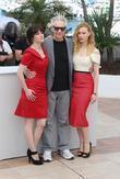 Emily Hampshire, David Cronenberg and Sarah Gadon