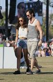 Zoe Kravitz, Penn Badgley and Coachella