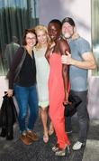 Lauren Cohan, Laurie Holden, Danai Gurira, Michael Rooker and Walk Of Fame
