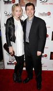 Megan Park and Michael Winnick