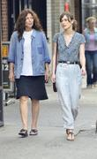 Keira Knightley and Catherine Keener