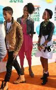 Jada Pinkett-smith, Jaden Smith and Willow Smith