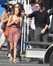 Christian Bale and Isabel Lucas