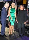 Tim Gunn, Heidi Klum, Michael Kors and Times Square