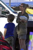 Julie Bowen and Oliver Phillips