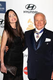 Carolyn Hollingsworth and Buzz Aldrin