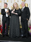 Paul Epworth, Adele Adkins and Richard Gere