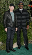 Patrick Stewart and Michael Dorn