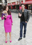 Lisa Vanderpump, Dog Giggy and Gleb Savchenko