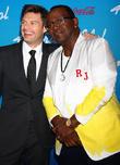 Ryan Seacrest and Randy Jackson