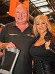 Andy Jones and Samantha Fox