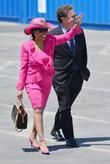 President Barack Obama and Frederica Wilson