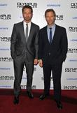 Aaron Eckhart and Gerard Butler