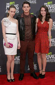 Taissa Farmiga, Israel Broussard and Katie Chang